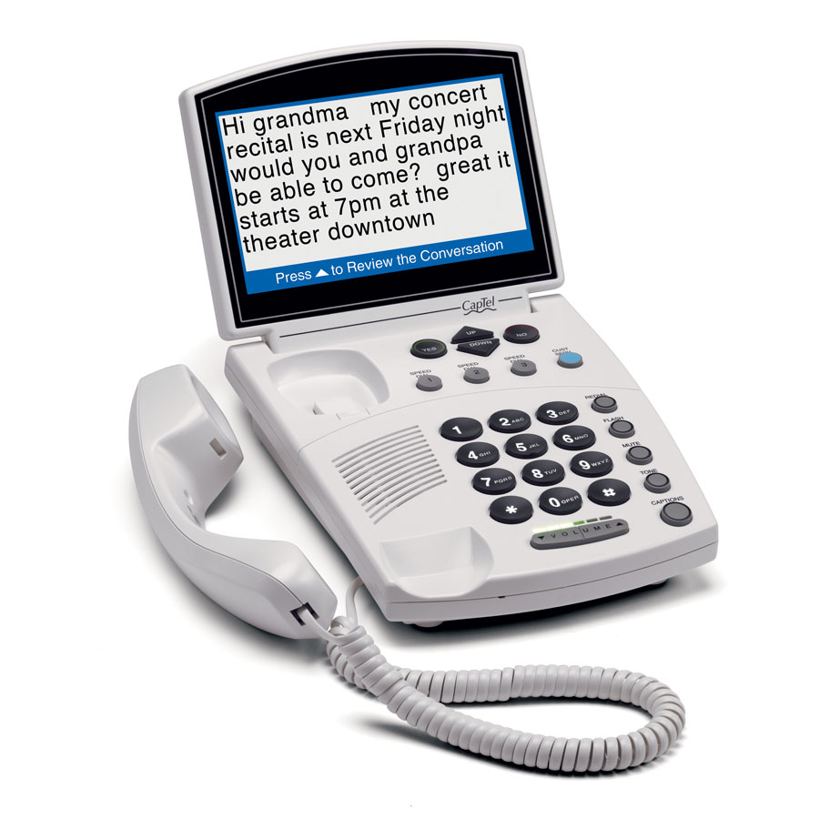 840i Caption Phone
