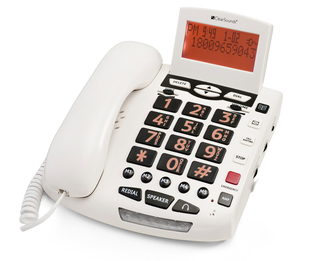 Phone With Talking Keypad & Talking Caller Id